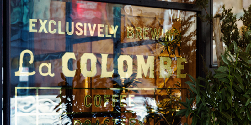 Hollingsworth Is an Exclusive Brewer of La Colombe Coffee