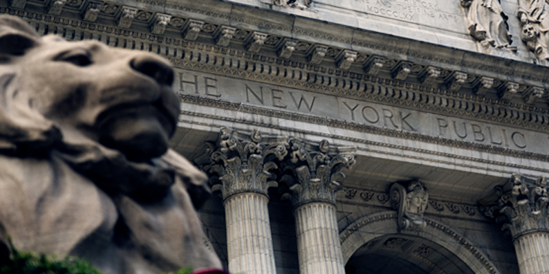 The Exterior of the New York Public Library