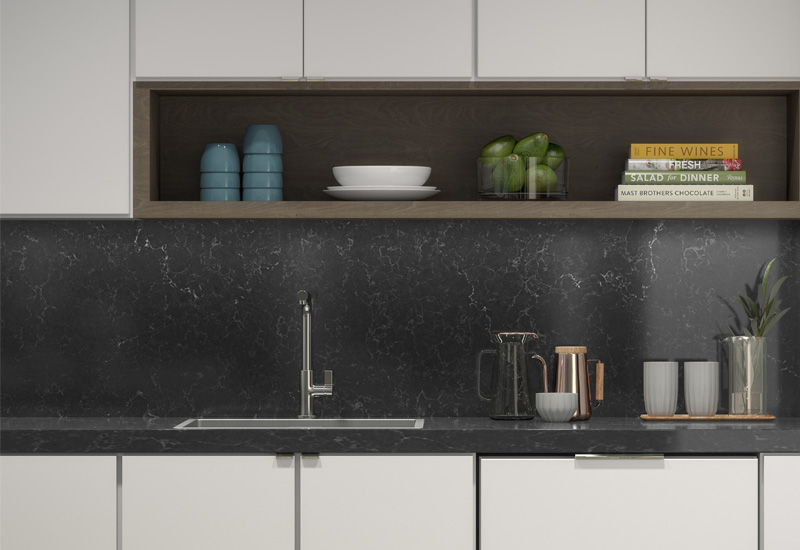 There's Ample Storage and Counter Space in Every Hollingsworth Luxury Apartment Kitchen